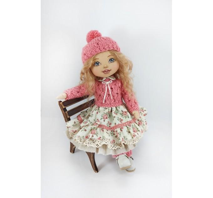 Handmade OOAK Cloth Doll #3
